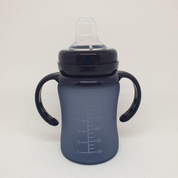 biberon-taza-cristal-silicona-everyday-baby-morado