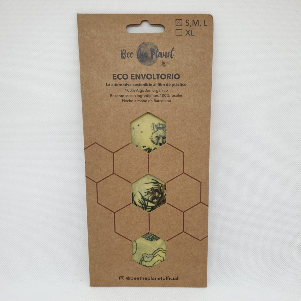 Bee the Planet Wax Wrap – Pack 3 | Forrest