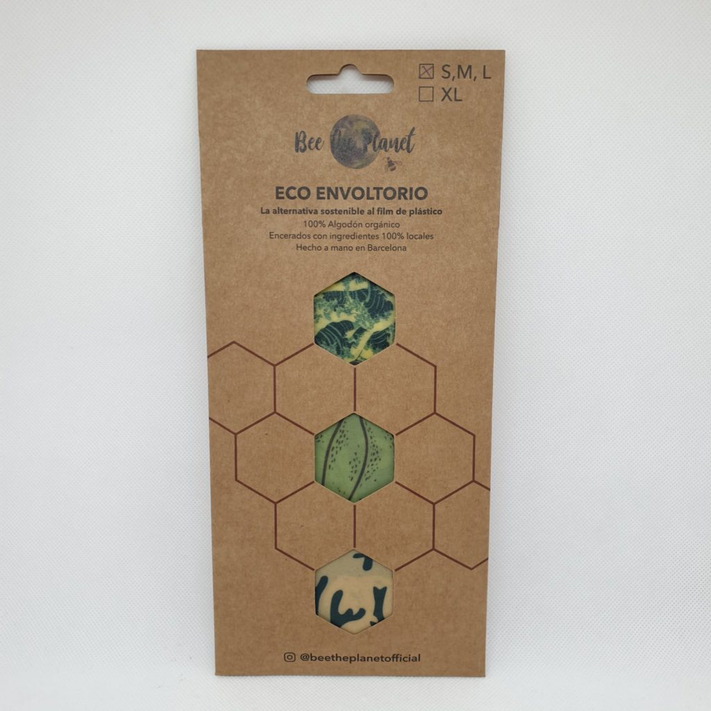 Bee the Planet Wax Wrap – Pack 3 | Ocean