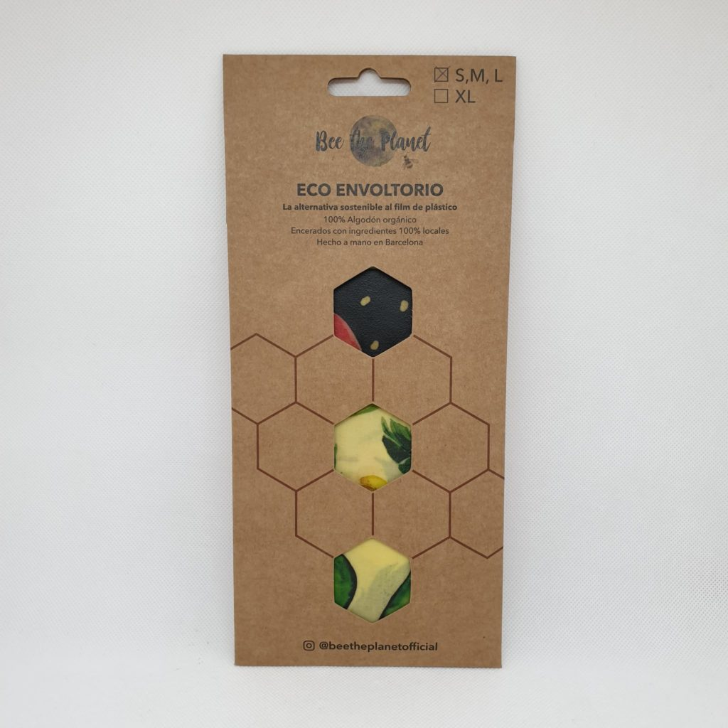 Bee the Planet Wax Wrap – Pack 3 | Fruit