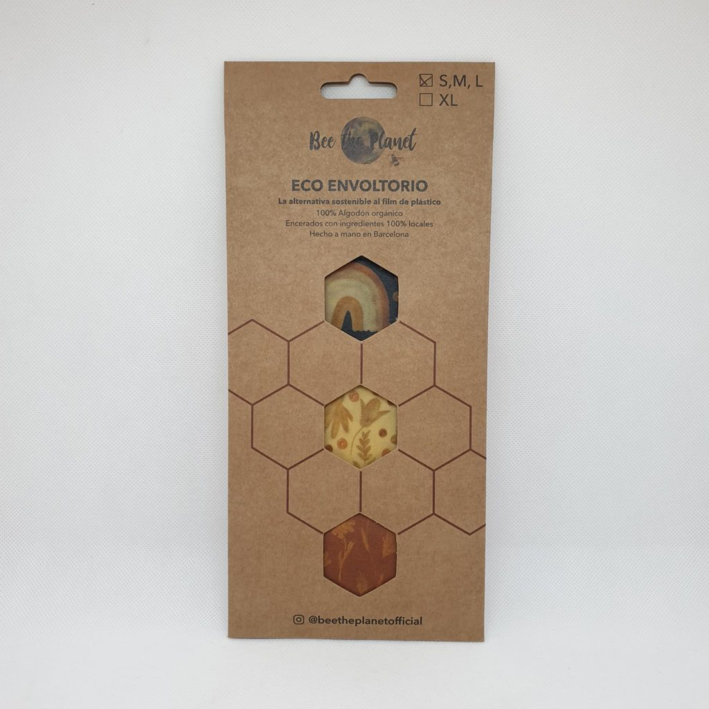 Bee the Planet Wax Wrap – Pack 3 | Rainbow
