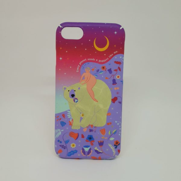 Funda Sostenible iPhone 7 o 8 - Goddess