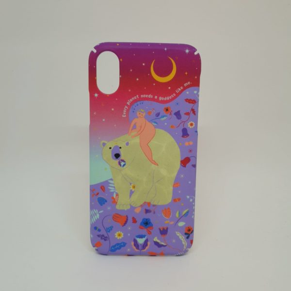 Funda Sostenible iPhone X o XS - Goddess